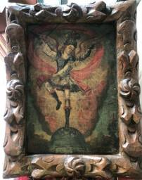 Quadro Cuzquenho antigo e original