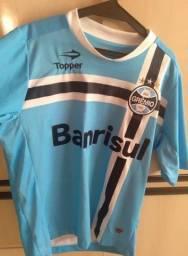 """3 Camisas oficiais Tamanho """"G"""" para colecionadores e apaixonados por futebol"""
