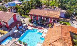 Apartamento mobiliado com 3 dormitórios à venda, 140 m² por R$ 420.000 - Praia de Taperapu