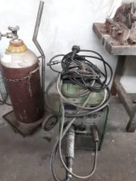 SOLDA MIG-250 HYLONG + CILINDRO