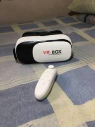 Óculos de realidade virtual 3D para Smartphone! ( Com controle)