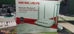 Roteador wireless e otimizador mercusys