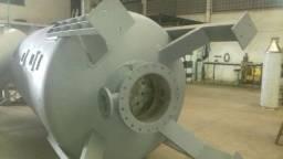 Título do anúncio: Vaso de Pressão em Aço Carbono para Uso Como Abrandador Diâmetro 1800 mm - #8655