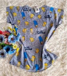 Camisetas t shirts feminina, Simpsons