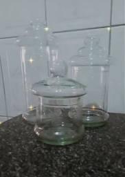 Título do anúncio: Potes de vidro