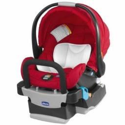 Bebê conforto com Base Chicco KeyFit 0 a 13KG Vermelho. Parcelamos no cartão!