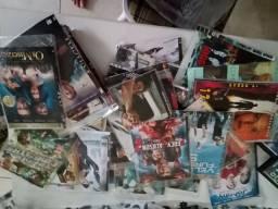 Lote 147 dvds variados filmes tudo por 100,00
