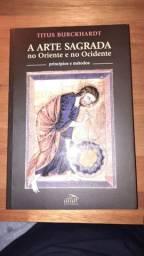 Livro A arte sagrada no Oriente e no Ocidente