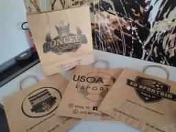 Título do anúncio: sacolas personalizadas a partir de 100 unidades