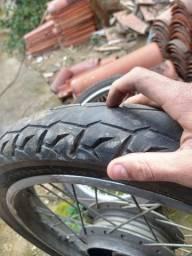 Par de rodas de ferro start 160 originais