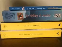 Livros na língua italiana