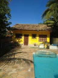 Linda casa em itaipuaçu com 3 qrts e piscina e terreno,carta