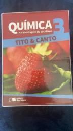 Box Quimica na Abordagem do Cotidiano 3 - Tito & Canto