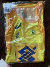 Camisa do Brasil Asics Volei de praia