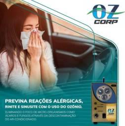 Aplicação de ozônio