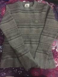 Blusão de lã. Lacoste