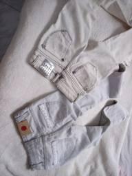 Calças jeans infantil de marca só 25 cada