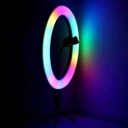 RING LIGHT RGB 26CM É 30CM