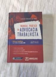 Livro Manual Prático da Advocacia Trabalhista -ótimo estado