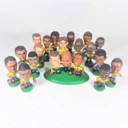 Bonecos Mini Craques Brasil Coca-cola Copa 1998 Original