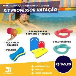 Kit Natação - Prancha - Espaguete Flutoador -  PoliBoia -  Polo Aquático
