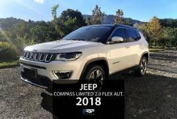 Jeep Compass Limited 2.0 Flex Aut. | Novíssimo | 2018