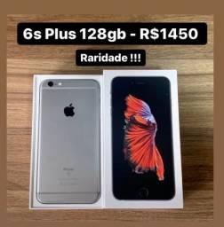 iPhone 6s Plus 128gb Caixa Completo - Aceito Cartão