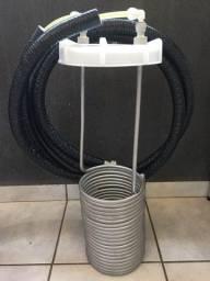 Kit Refrigeração Básico Para Fermentador Branco 120/150 LTS Indupropil - Nunca foi usado