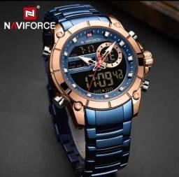 Relógios Masculinos Naviforce (Originais) Novo - Promoção Dia dos Pais