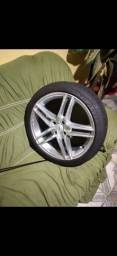 Rodão  aro 17 pneus novos