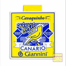 Título do anúncio: Encordoamento para Cavaquinho Aço Giannini .010 Canário Gescb Tensão Média