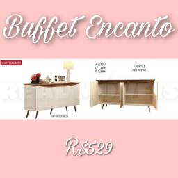 BUFFET BUFFET ENCANTO ( 4 PORTAS, PÉS RETRÔ )