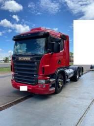 Caminhão scania g 380 6x2 ano 2009