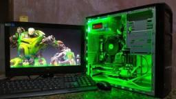 PC Gamer Completo, Bom pra GTA 5, Free Fire, CS Go etc, Aceito cartão até 12X!