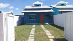 Casa nova com 2q, 1 suíte, pisc e churr perto da praia no Boqueirão!