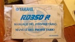 Manual Rd350r 4ce Importado + Brinde Veja Fotos!
