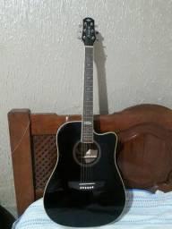 violão folk elétrico,  strinberg
