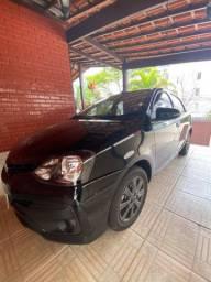 Etios sedan 1.5  x-plus 2019 único dono