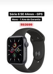 Apple Watch S6 SE 44mm Novo 1 Ano de Garantia - Aceito Cartão