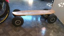 Skate loong board elétrico