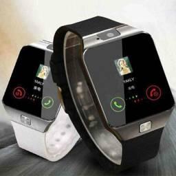 Relógio smartwatch DZ09.  NOVO, com garantia e nota fiscal.