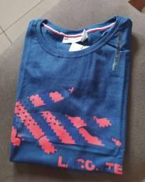 Camisas Masculina malha Peruana