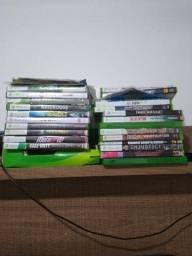 Xbox 360 inteiro tudo funcionando