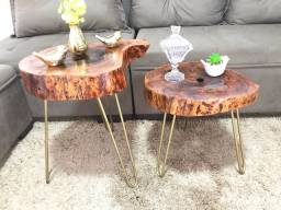 Mesas rústicas