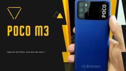 Poco M3 64 GB/4 GB Ram Azul China