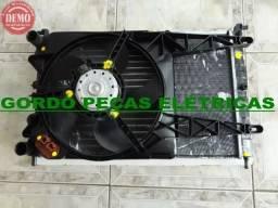 Kit Completo De Radiador Com Ventoinha Fiat Uno Fire Com Ar