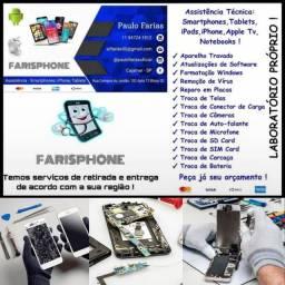 Assistência técnica iPhone, Smartphones e Notebooks