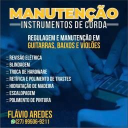 Manutenção em instrumentos