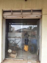 Porta de vidro comercial