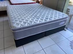 Linda cama box queen size - qualidade- conforto e beleza-entrego